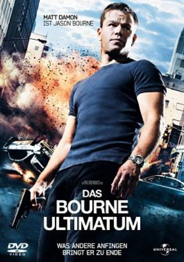 DVD Das Bourne Ultimatum FSK: 12
