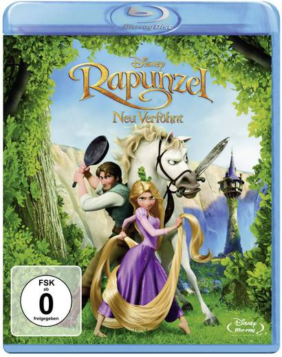 blu-ray Rapunzel - Neu verföhnt FSK: 0