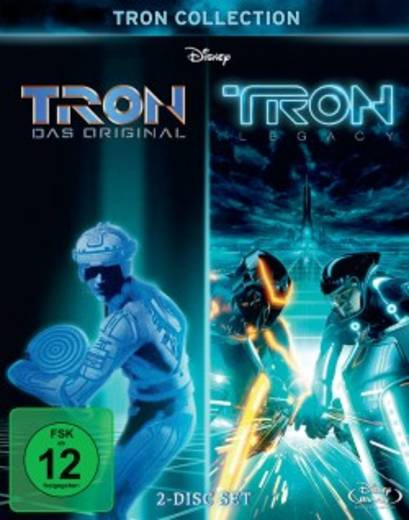 blu-ray Tron Collection FSK: 12