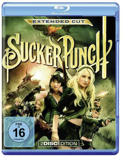 blu-ray Sucker Punch (Kinofassung + Extended Cut, inkl. Digital Copy) FSK: 16