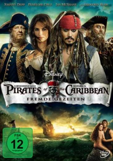 DVD Pirates of the Caribbean Fremde Gezeiten FSK: 12