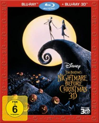 blu-ray 3D Nightmare before Christmas 3D FSK: 6