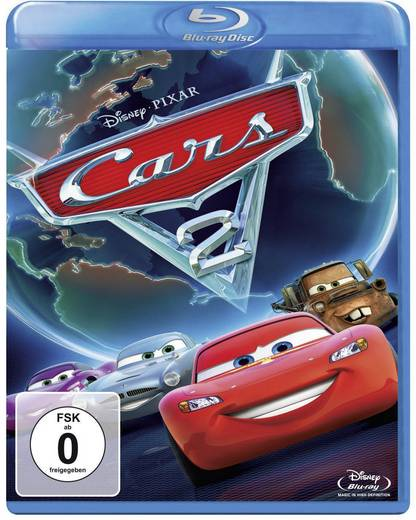 blu-ray Cars 2 FSK: 0