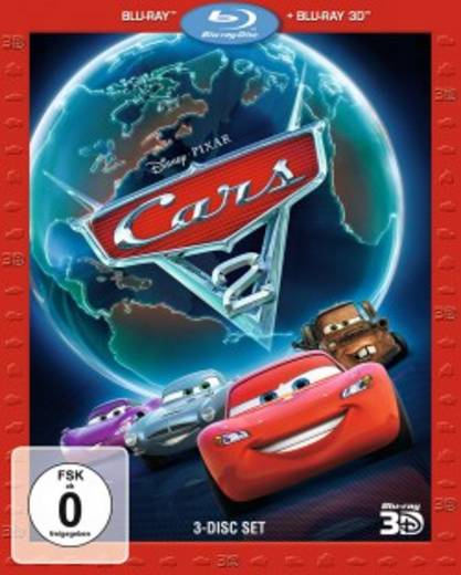 blu-ray 3D Cars 2 FSK: 0