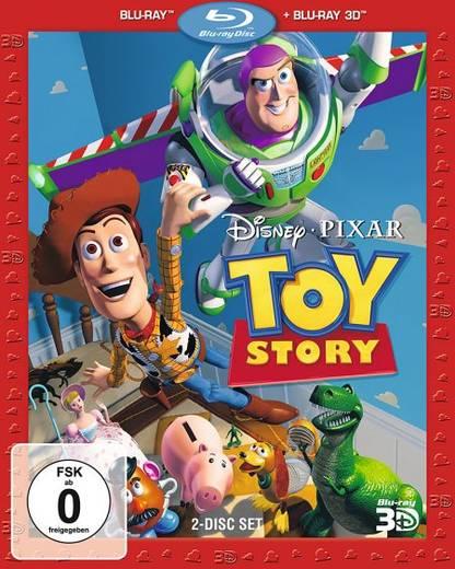 blu-ray 3D Toy Story FSK: 0