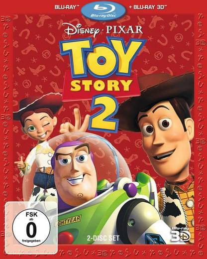blu-ray 3D Toy Story 2 FSK: 0