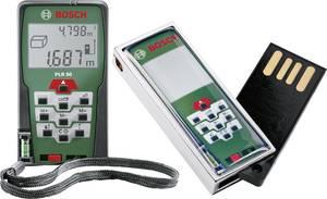 Bosch plr 50 4 gb usb stick laser entfernungsmesser inkl. 4 gb usb