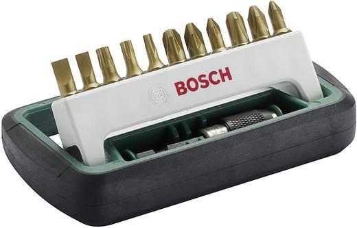 Bit-Set 12teilig Bosch 2608255990 Kreuzschlitz Phillips, Kreuzschlitz Pozidriv, Innen-TORX