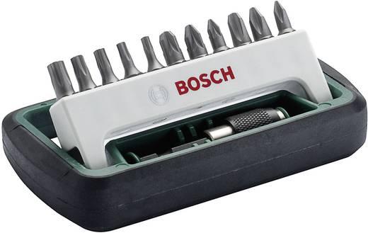 Bit-Set 12teilig Bosch 2608255993 Kreuzschlitz Phillips, Kreuzschlitz Pozidriv, Innen-TORX