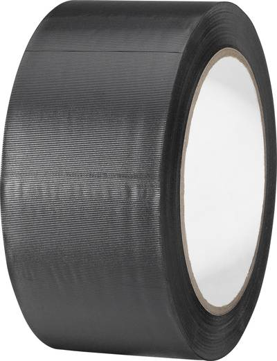 PVC-Klebeband Schwarz (L x B) 33 m x 50 mm TOOLCRAFT 832450S-C 1 Rolle(n)