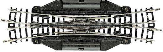 N Fleischmann Gleis (ohne Bettung) 22246 Doppelkreuzungsweiche, elektrisch 129.8 mm