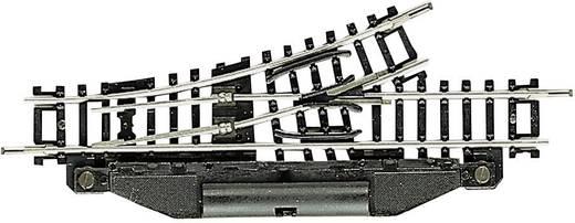 N Fleischmann Gleis (ohne Bettung) 22253 Weiche, links 104.2 mm 24 ° 194.6 mm
