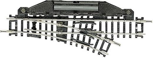 N Fleischmann Gleis (ohne Bettung) 22255 Weiche, elektrisch, rechts 104.2 mm