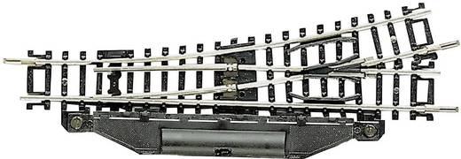 N Fleischmann Gleis (ohne Bettung) 22261 Weiche, elektrisch, links 112.6 mm 15 ° 362.6 mm