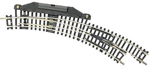 N Fleischmann Gleis (ohne Bettung) 22275 Bogenweiche, elektrisch, rechts 42 ° 194.6 mm, 228.2 mm