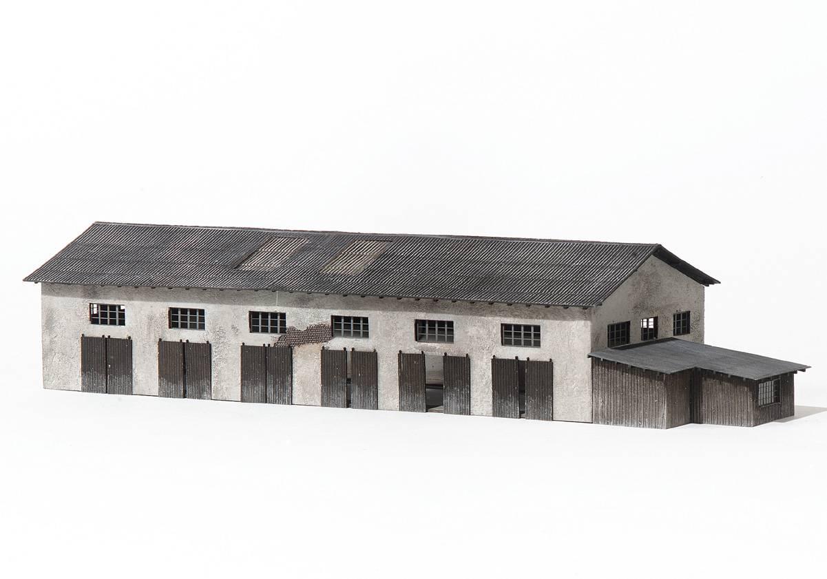 Faller 130197 H0 Bausatz Milchabladestelle mit Waage