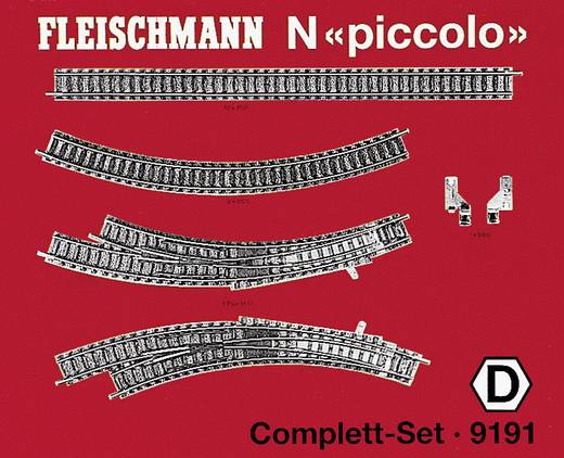N Fleischmann piccolo (mit Bettung) 9191 Ergänzungs-Set