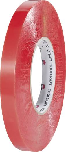 Doppelseitiges Klebeband Transparent (L x B) 50 m x 15 mm TOOLCRAFT 1397P1550C 1 Rolle(n)