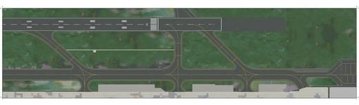 Luftfahrzeug 1:500 Herpa Folie III: Runway 520676