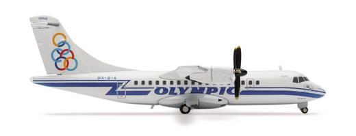 Luftfahrzeug 1:200 Herpa ATR-42 Olympic Airlines 552417