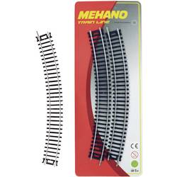 Sada 4 obloukových kolejí H0 Mehano F210
