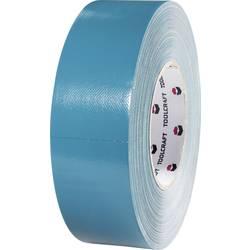 Jednostranná textilná lepiaca páska TOOLCRAFT 829B48L50C, 50 mx 48 mm, modrošedá