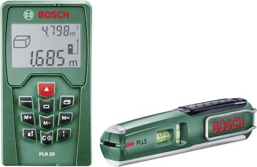 Entfernungsmesser Conrad : Bosch plr 25 pll 5 laser entfernungsmesser