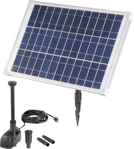 Solar-Pumpenset 980 l/h Renkforce 20 W 1007586