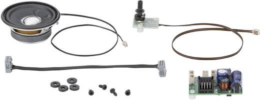 Soundmodul Dieselmotor, Elektrische Fahrmotoren, Signalhorn, Pfeife, Ansage des Zugführers, Bremsgeräusche, Bremsen anle