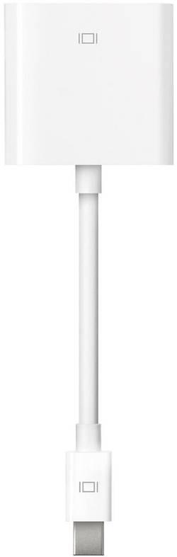 DisplayPort / DVI adaptér Apple Mini DisplayPort till DVI MB570Z/B, [1x mini DisplayPort zástrčka - 1x DVI zásuvka 24+1pólová], bílá