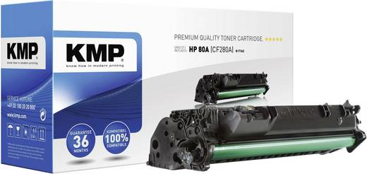 KMP Tonerkassette H-T163 Schwarz 1235,0000