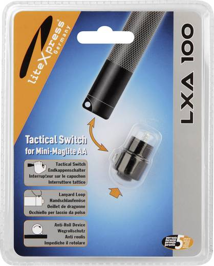 Endkappenschalter Passend für (Details): Mag-Lite Mini AA, LED Mini Maglite AA LiteXpress LXA100