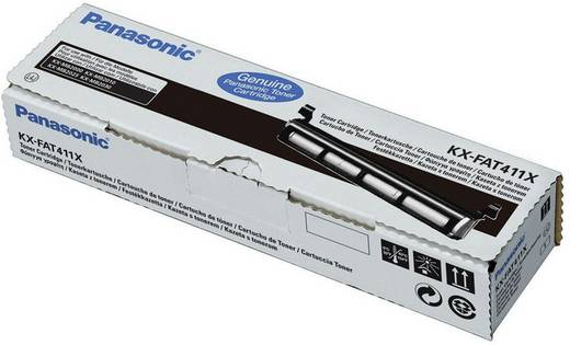 Panasonic Toner KX-FAT411X KX-FAT411X Original Schwarz 2000 Seiten