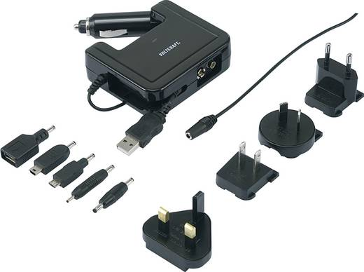 VOLTCRAFT 4-in-1 Multi-Lader MC 1.2 405171 MC 1.2 Reiselader, Betriebspannung über 100 - 240 V, 12 - 13,8 V/DC, 5 V über