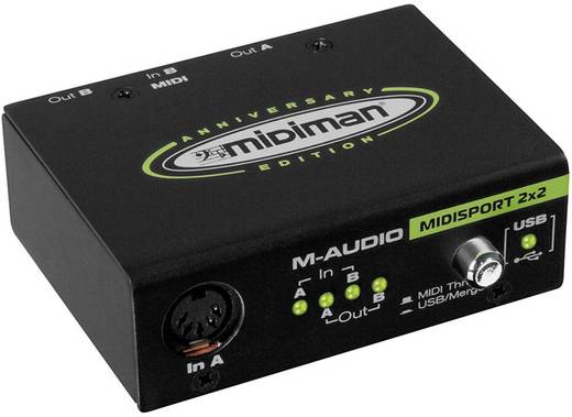 MIDI Interface M-Audio Midisport 2x2 Interface