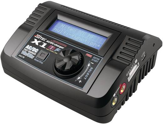 Modellbau-Multifunktionsladegerät 12 V, 220 V 10 A Hitec Multi-chargeur X1 MF LiPo, LiFePO, LiIon, NiCd, NiMH, Blei