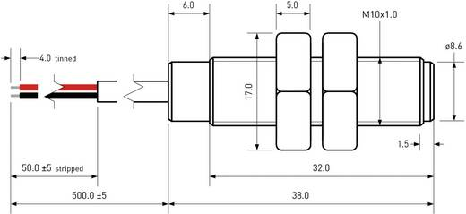Reed-Kontakt 1 Schließer 200 V/DC, 140 V/AC 1 A 10 W PIC MS-2210M-3/973