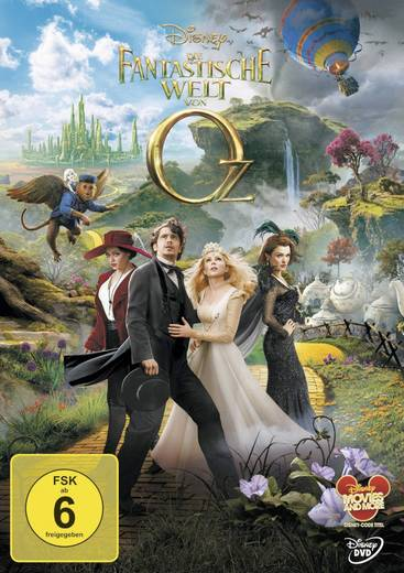 DVD Die fantastische Welt von Oz FSK: 6
