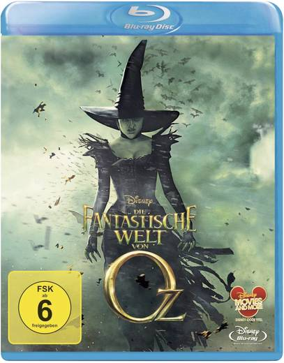 blu-ray Die fantastische Welt von Oz FSK: 6