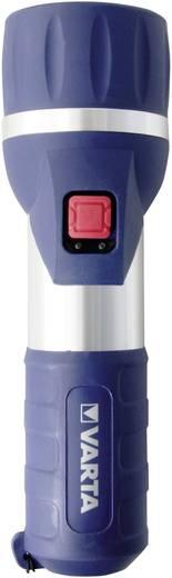 LED Taschenlampe Varta Day Light 2 D batteriebetrieben 198 g Blau, Silber