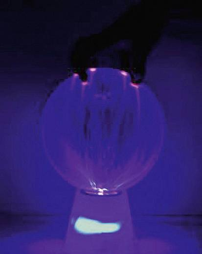 Dekoleuchte Eurolite Boule plasma Sound Classic 80600102