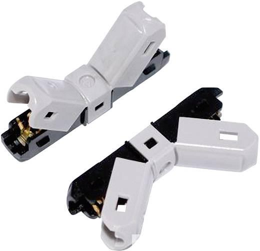 Einzeladerverbinder flexibel: 3.25-5 mm² starr: 3.25-5 mm² Polzahl: 2 JOWOO e-clamp 406042 art 35N015 1 St. Grau, Schwa