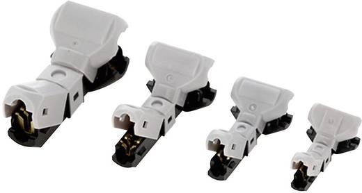 Abzweigverbinder flexibel: 3.25-5 mm² starr: 3.25-5 mm² Polzahl: 2 JOWOO e-clamp 406047 art 35N020 1 St. Grau, Schwarz