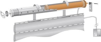 Rohrmotor Nachrüstung