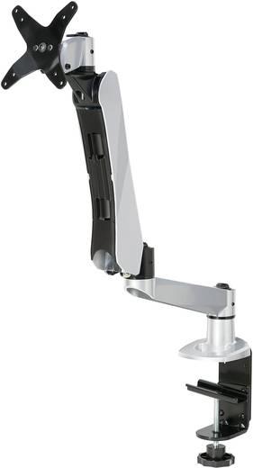 SpeaKa Professional SuperFlex Monitorhalter, Tischmontage mit Gasdruck-Technik mit Grommet- und C-Klemme