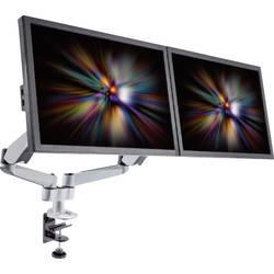 """Stolový držiak monitoru SpeaKa Professional SP-1624800, 25,4 cm (10"""") - 68,6 cm (27""""), striebornočierná"""