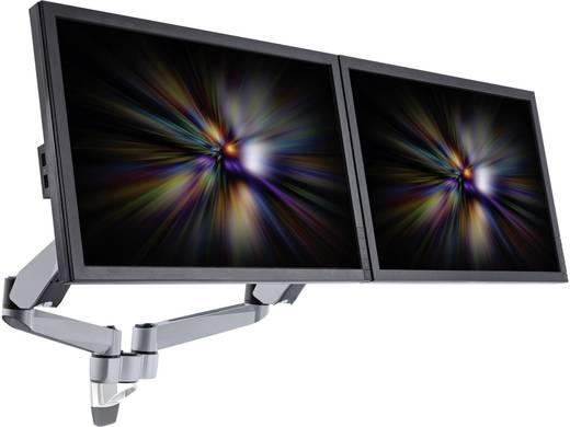 Xergo SuperFlex 2fach Monitorhalter, Wandmontage mit Gasdruck-Technik