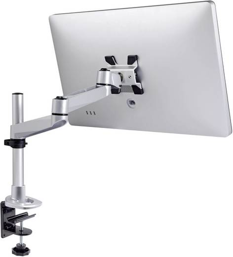 SpeaKa Professional SuperSwivel Apple Monitorhalter, Tischmontage mit Grommet- und C-Klemme