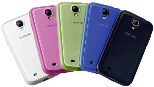 Samsung Protective Cover+ Backcover Passend für: Samsung Galaxy S4 Grün