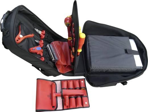 VDE Werkzeugrucksack bestückt 36teilig Bernstein GLOBETROTTER 8310 VDE (L x B x H) 350 x 430 x 230 mm